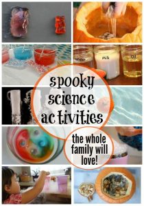 15 SPOOKY HALLOWEEN SCIENCE EXPERIMENTS & ACTIVITIES By Jillian- Halloween Scien... 25