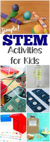 These easy STEM activities for kids are great for adding some hands-on fun to le... 1