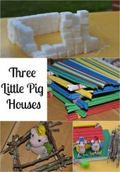 Fun Three Little Pigs Activity ideas. Build houses from different materials and ... 1