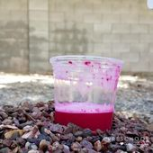This color-changing baking soda volcano for kids couldn't be easier! Do this fun... 1