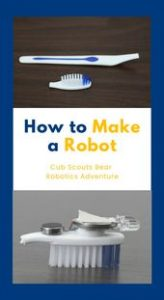 HOW TO MAKE A ROBOT for Cub Scouts 5
