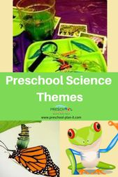 Preschool science themes fall under the science areas of Life, Physical, Earth/E... 17