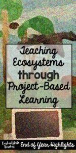Integrate art, science, technology, writing, and reading into a Biomes/Ecosystem... 7