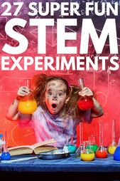 Looking for STEM experiments for kids to keep your little ones interested in lea... 1