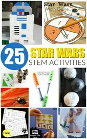 Awesome Star Wars STEM activities for kids! Tons of hands-on science, technology... 1
