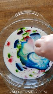 Magic Milk Science Experiment 11