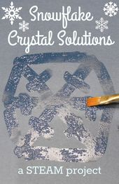Beautiful snowflakes are made up of many tiny ice crystals that form in symmetri... 1