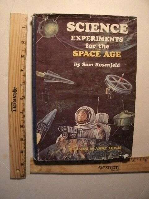 Science Experiments for the Space Age by Sam Rosenfeld (Hardcover,1972) 9
