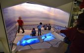 Interactive displays for kids are a big part of the experience, but active young... 1