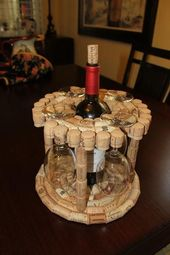 Cool DIY wine cork crafts and decorations | My desired home 11