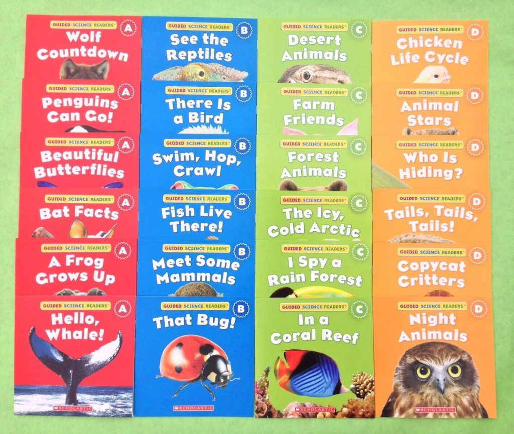 Animals Level A B C D Childrens Books Science Lot 24 1