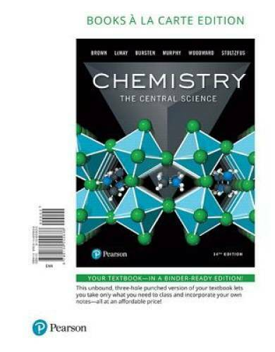 Chemistry: The Central Science, Books a la Carte Edition (14th Edition) - GOOD 19