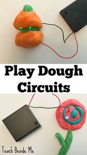 EASY Play Dough Circuits - Teach Beside Me 1
