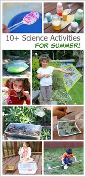 10 Summer Science Activities for Kids: Learn how to make a newspaper kite, how t... 1
