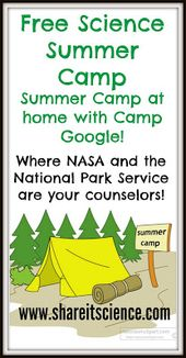 Free Science Activities For All with Camp Google! 1