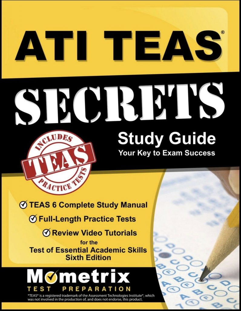 ATI Teas Mometrix: Secret Study Guide 1