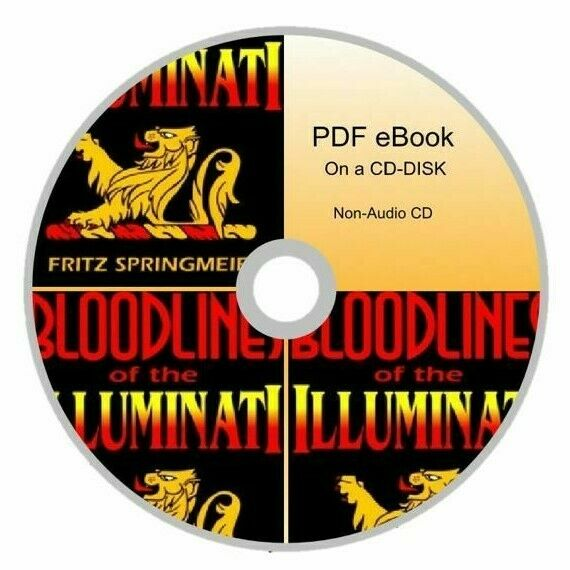 Bloodlines of the Illuminati By Fritz Springmeier Book On a CD-DISK Non-Audo 19