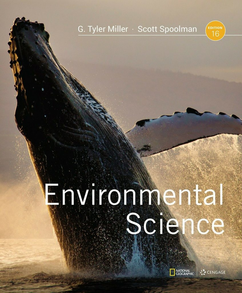 Environmental Science, 16th Edition Book 1