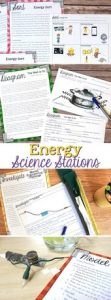 Energy Science Stations for Fourth Grade 4