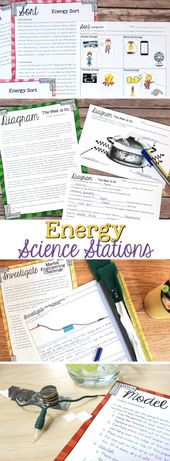 Energy Science Stations for Fourth Grade 1