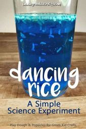Science for Kids: Magic Dancing Rice Experiment - Green Kid Crafts 1