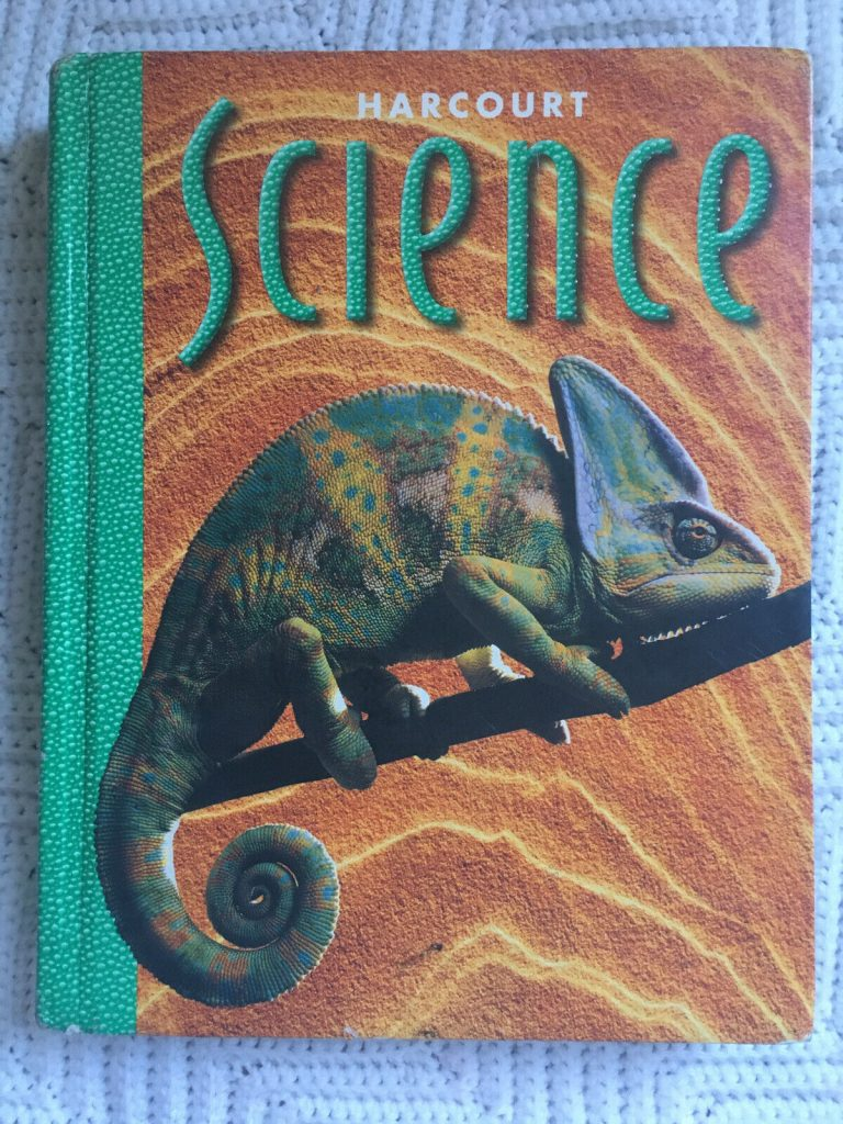 Harcourt Science 4th Grade Hardcover Textbook w. Chapter Reviews, Activity Ideas 1