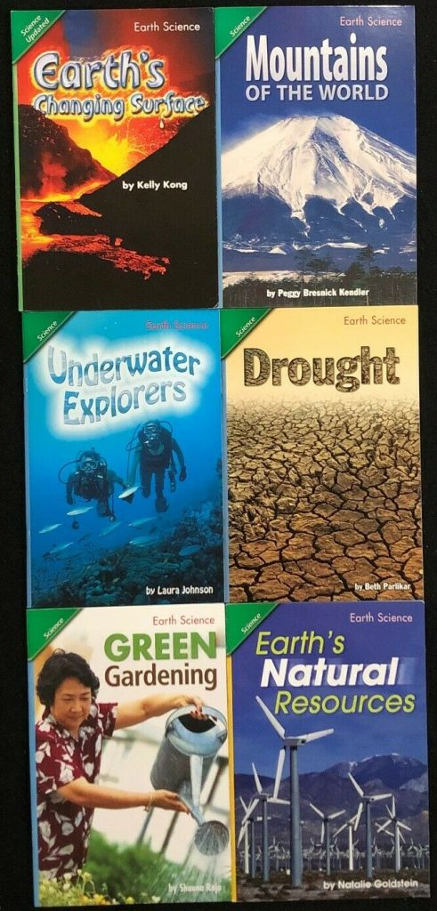 5th Grade EARTH SCIENCE Curriculum Readers (6 books) Teacher/Homeschool/Tutor 13