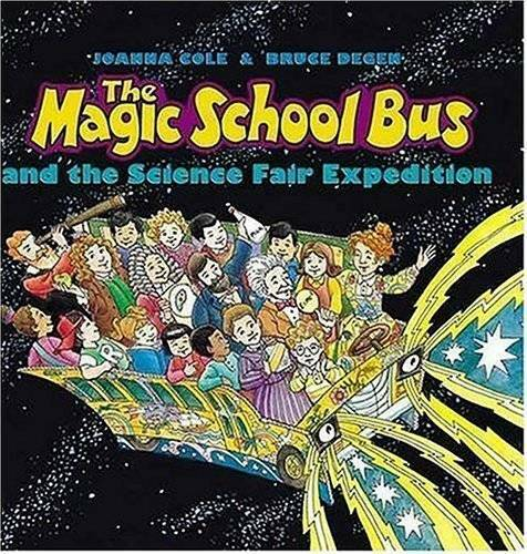 The Magic School Bus and the Science Fair Expedition - Hardcover - GOOD 3
