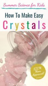 Growing Crystals for Kids: Create Your Own Jewels! - Team Cartwright 2