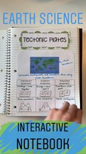 Earth Science Interactive Notebook 7