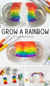 Grow a Rainbow Experiment 1