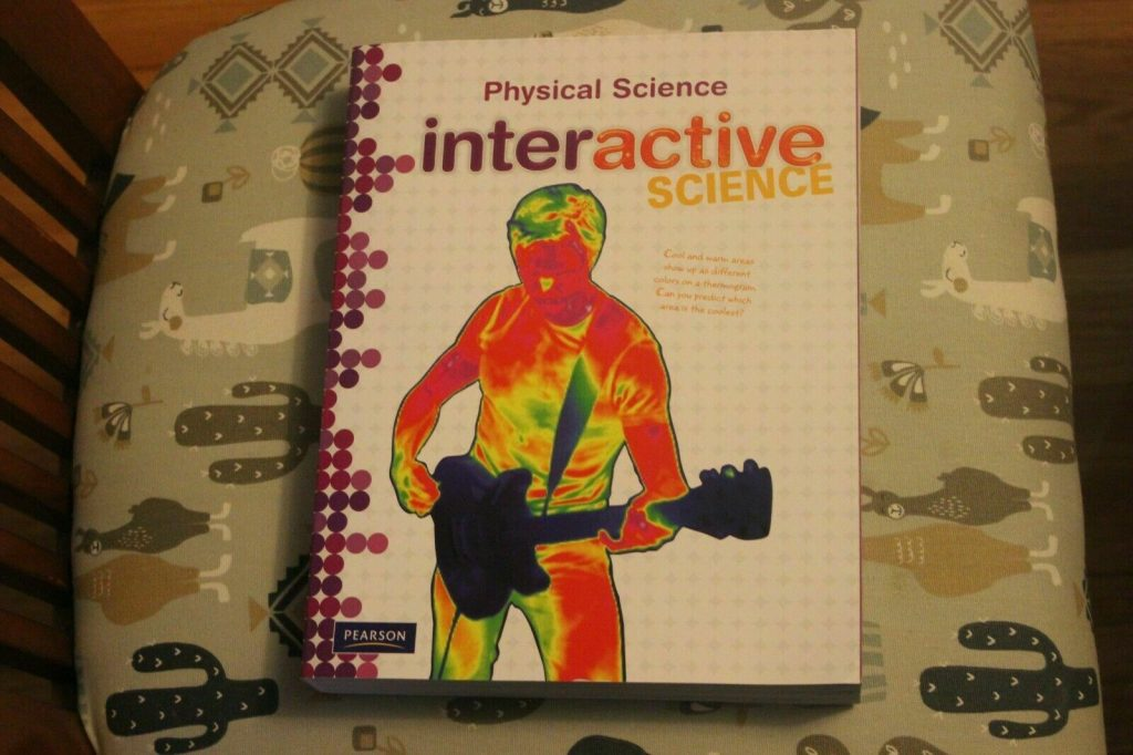 Physical Science Interactive Science Pearson Grade 6 7 8 BRAND NEW!!!!!! 9