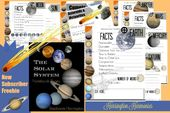Free Solar System Notebooking Pages | Money Saving Mom® 6