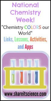 National Chemistry Week 2015: Chemistry Colors our World 1