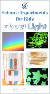 9 Science Experiments about Light for Kids 1