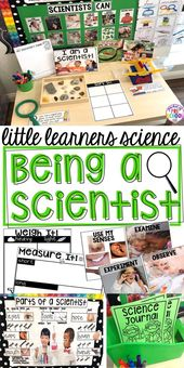 Being a Scientist - Science for Little Learners (preschool, pre-k, & kinder) 1