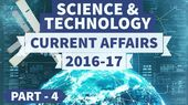 Science and Technology - 2016 + 2017 Current Affairs - Part 4 - UPSC/IAS study iq 1