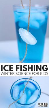 Ice Fishing Winter Science Project: Fishing for Ice! 1
