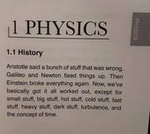 A brief history of physics 1