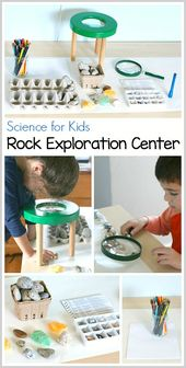 Science for Kids: Rock Exploration Center 1