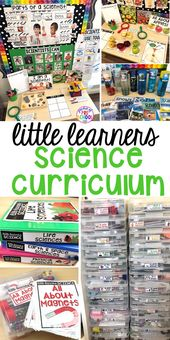 Little Learners Science Curriculum - Preschool, Pre-K, and Kindergarten - Pocket of Preschool 1
