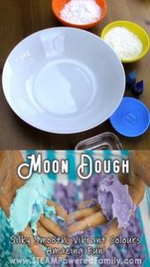 Amazing Moon Dough Recipe with Secret <a href=