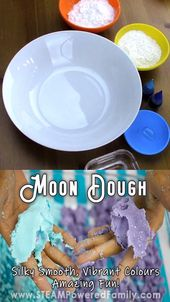 Amazing Moon Dough Recipe with Secret Science 1