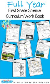 First Grade Science Full Year Curriculum 2