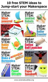Makerspace Project Ideas 3