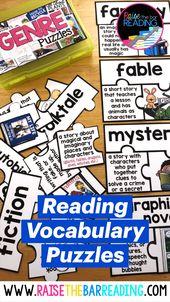Reading Vocabulary Puzzles 1