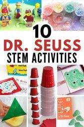 10 Dr. Seuss STEM Activities! 1