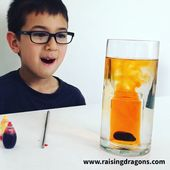 Underwater Volcano For ages 3-8 ⋆ Raising Dragons 1