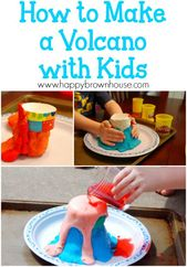 Simple Science: How to Make a Volcano with Kids 1