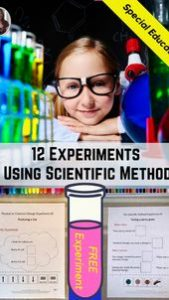Using the Scientific Method in Special Ed 4